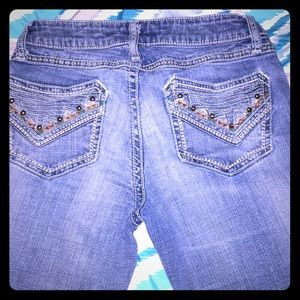 Size 24 Pretty worn Rock 47 jeans